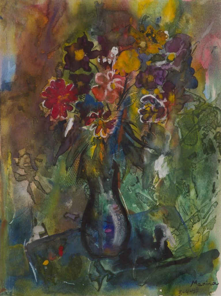 Still Life with Flowers no frame