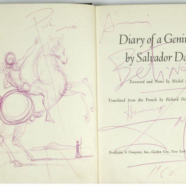Dali.Diary of a Genius.Book